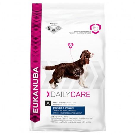 Eukanuba Adult Daily Care Overweight (Sobrepeso) Esterilizado 12 KG