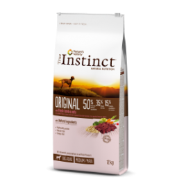 ORIGINAL CORDERO CON AVENA Medium/Maxi – Adult 12 Kg - True Instinct