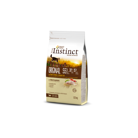 ORIGINAL CON POLLO Y ARROZ INTEGRAL ADULT 7 Kg - True Intstinc