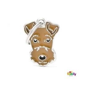 Placa Identificativa para Airedale Terrier