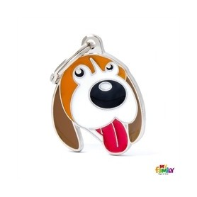 Placa identificativa para Beagle