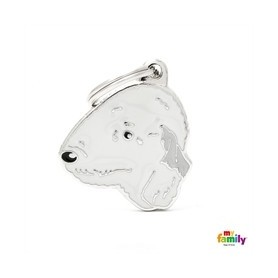 Placa identificativa para Bedlington Terrier