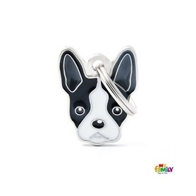 Placa identificativa para Boston Terrier