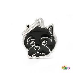 Placa identificativa para Cairn Terrier