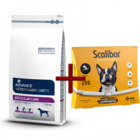 Pack: Advance Veterinary Articular Care 12 KG + Scalibor Collar antiparasitario 48 cm