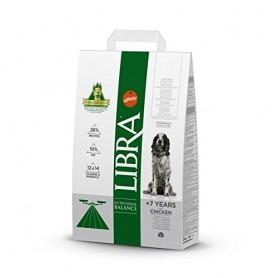 Libra +7 Senior con pollo 3 KG