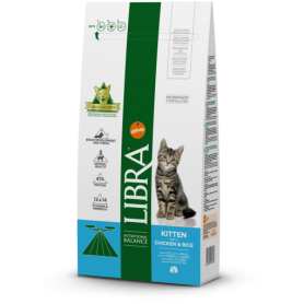 Libra Cat Cachorro Kitten Pollo 1,5 Kg
