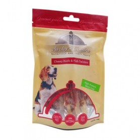 Chewy Duck & Fish Twisters 100 gr
