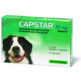 Capstar para Perros Grandes 57 mg - 6 Comprimidos