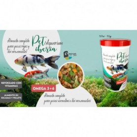 Pondfood mix Petiberia 1200ml 120 grs