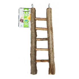 Escalera 5 peldaños de madera 32x10cm