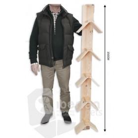 Posadero para Palomas 5 pisos 150cm