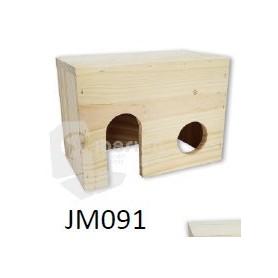 Casa madera para Roedores Peq. (15x12,5x10)