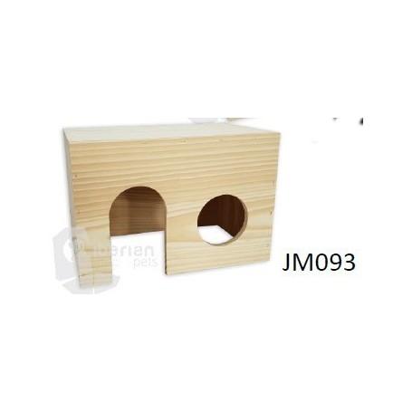 Casa madera para Roedores Med. (22x16x13)