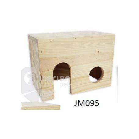Casa madera para Roedores Gra. (28x19x17)