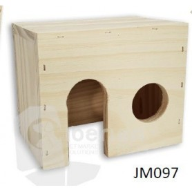 Casa madera para Roedores XL (33x21x21)