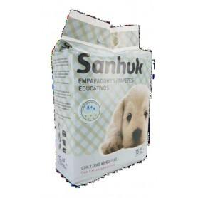 Empapadores super absorbentes Sanhuk 60x90cm 15uds/blister