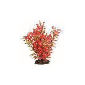 Planta Plástica 10cm Verde/Roja