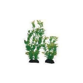 Planta Plástica 10cm Verde/Amarilla