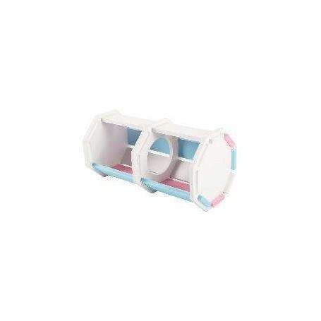 Nido octogonal en PVC para Hamster 19x9,2x2cm