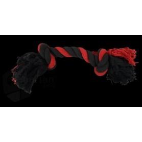 Mordedor de cuerda de algodón multicolor 15cm