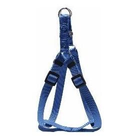 Arnés regulable en nylon azul (XL)