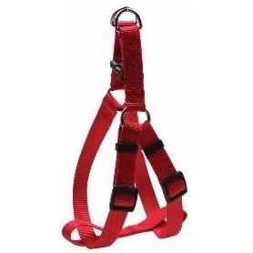 Arnés regulable en nylon rojo (XL)