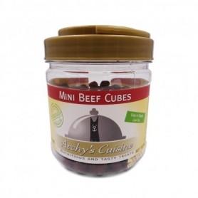 Mini Beef Cubes Jar 340gr