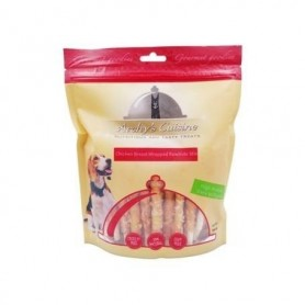 Chicken Breast Wrapped Rawhide Stix Bag 100gr