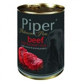 PIPER Monoprotéico - Buey con arroz integral 400gr