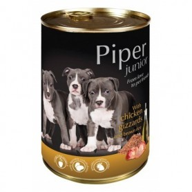 PIPER Junior - Pollo con arroz integral 400gr