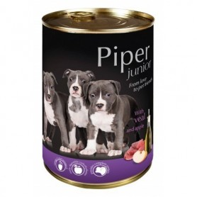 PIPER Junior - Ternera con manzana 400gr