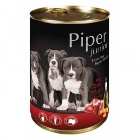 PIPER Junior - Buey con zanahoria 400gr