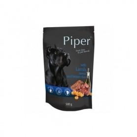 PIPER - Cordero, zanahoria y arroz integral 500gr