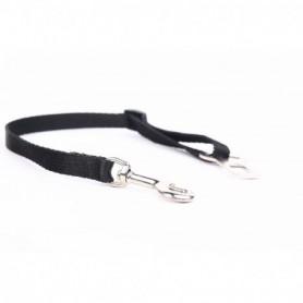 Cinturón Seguridad Coche Nylon Negro 45-75cm/1,6cm