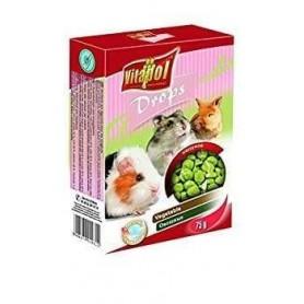 Karma Drops - Snacks de Vegetales para Conejos y Roedores 75g