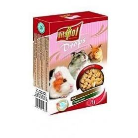 Karma Drops - Snacks de Nueces para Conejos y Roedores 75g