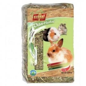 Vita Herbal - Heno con Manzanilla para Conejos y Roedores 1,2kg