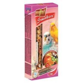 Smakers® - Barritas de Fruta para Periquitos, 2uds, 90g