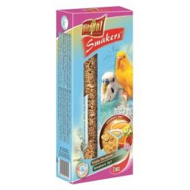 Smakers® - Barritas de Huevo, Miel y Fruta para Periquitos, 3uds, 130g