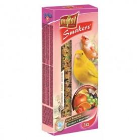 Smakers® - Barritas de Fruta para Canarios, 2uds, 60g