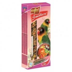 Smakers® - Barritas de Fruta para Agapornis, 2uds, 90g