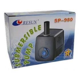 """Bomba Sumergible """"Resun"""" 550L/H Eleva hasta 122cm (SP-980)"""