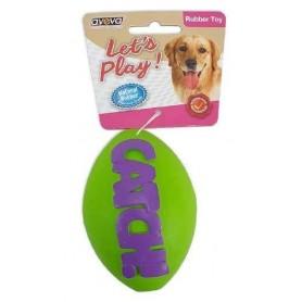 Catch! - Pelota de rugby de goma resistente con aroma a vainilla (M)
