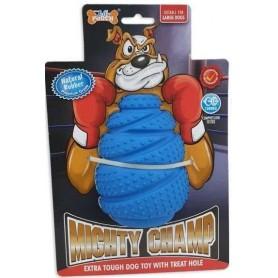 Mighty-Champ Roller - Mordedor de goma resistente con aroma a vainilla (Ø7,7x11cm)
