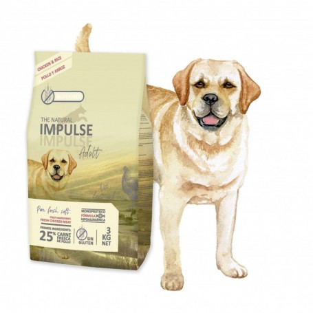 The Natural Impulse Dog Adult 12 kg