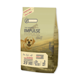 The Natural Impulse Dog Adult 3kg