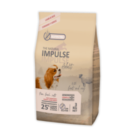 The Natural Impulse Dog Adult Lamb 3 kg