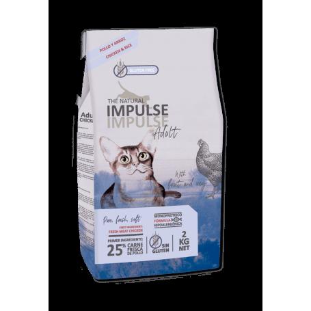 The Natural Impulse Cat Adult 2 kg