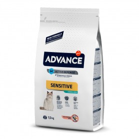 Advance Sterilized Adult Sensitive con salmón 10 KG